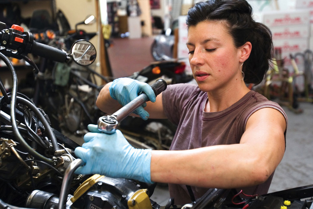 You should have the right to repair your motorcycle yourself.