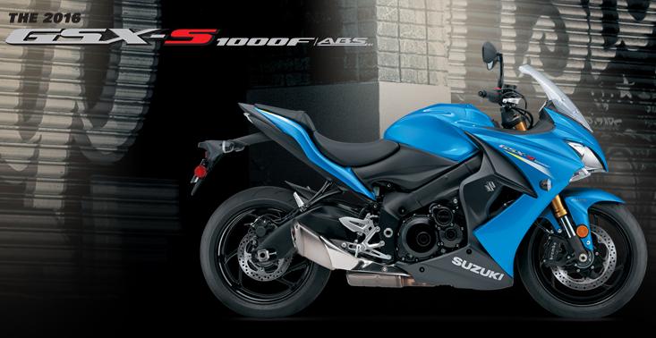 Suzuki GSX-S1000F - www.suzukicycles.com