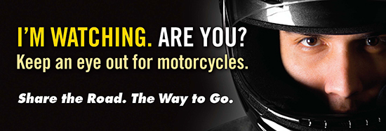 May is Motorcycle Awareness Month. Start Seeing Mototcycles